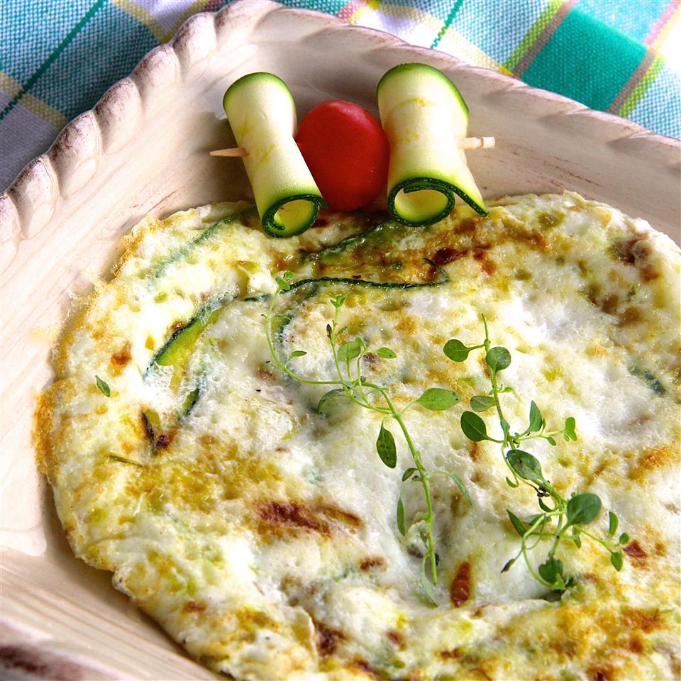 Zucchini Egg White Frittata
