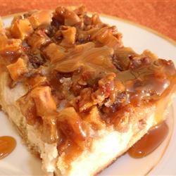 Nickie's Apple-Pecan Cheesecake naples34102