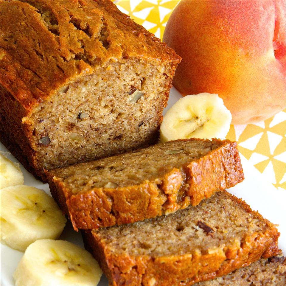 Banana Peach Bread