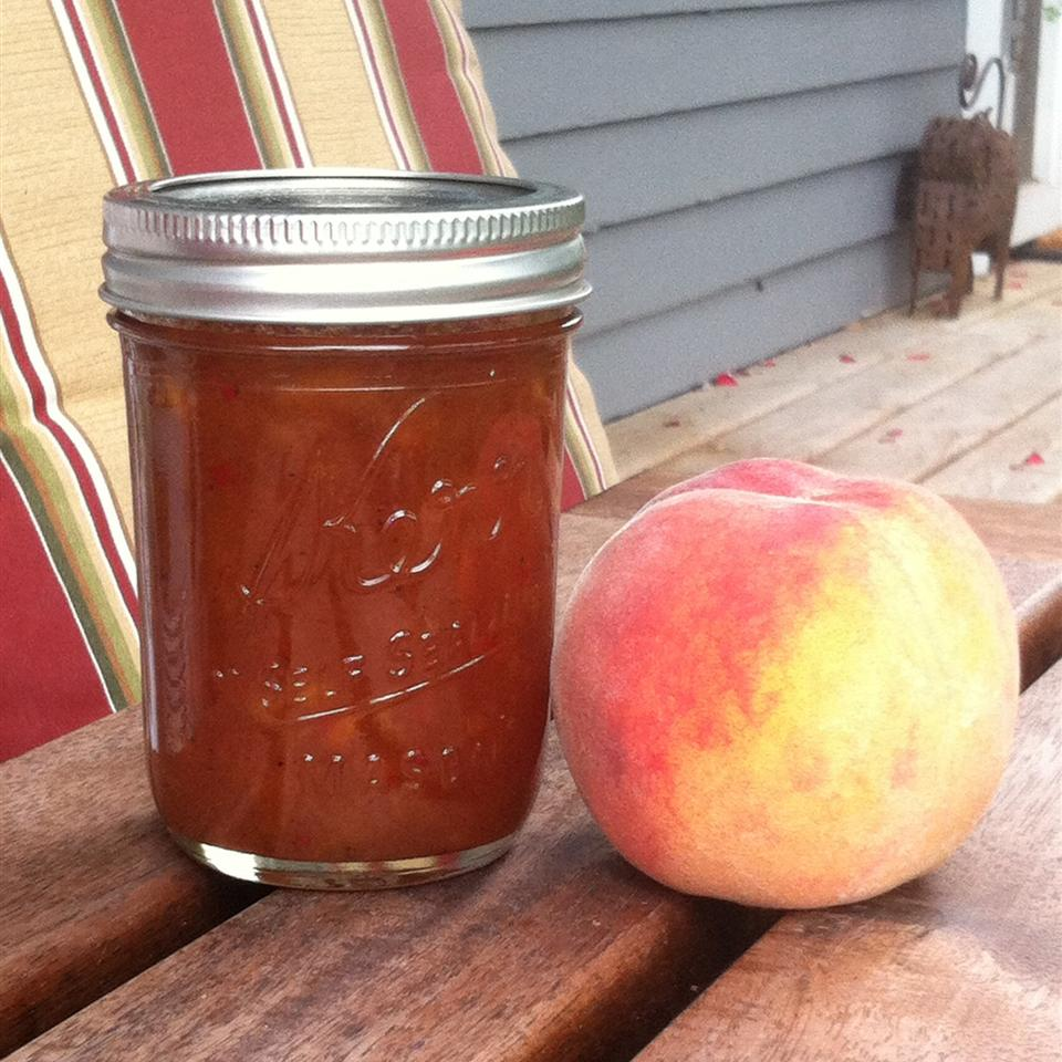 Kiki's Spiced Habanero Peach Jam
