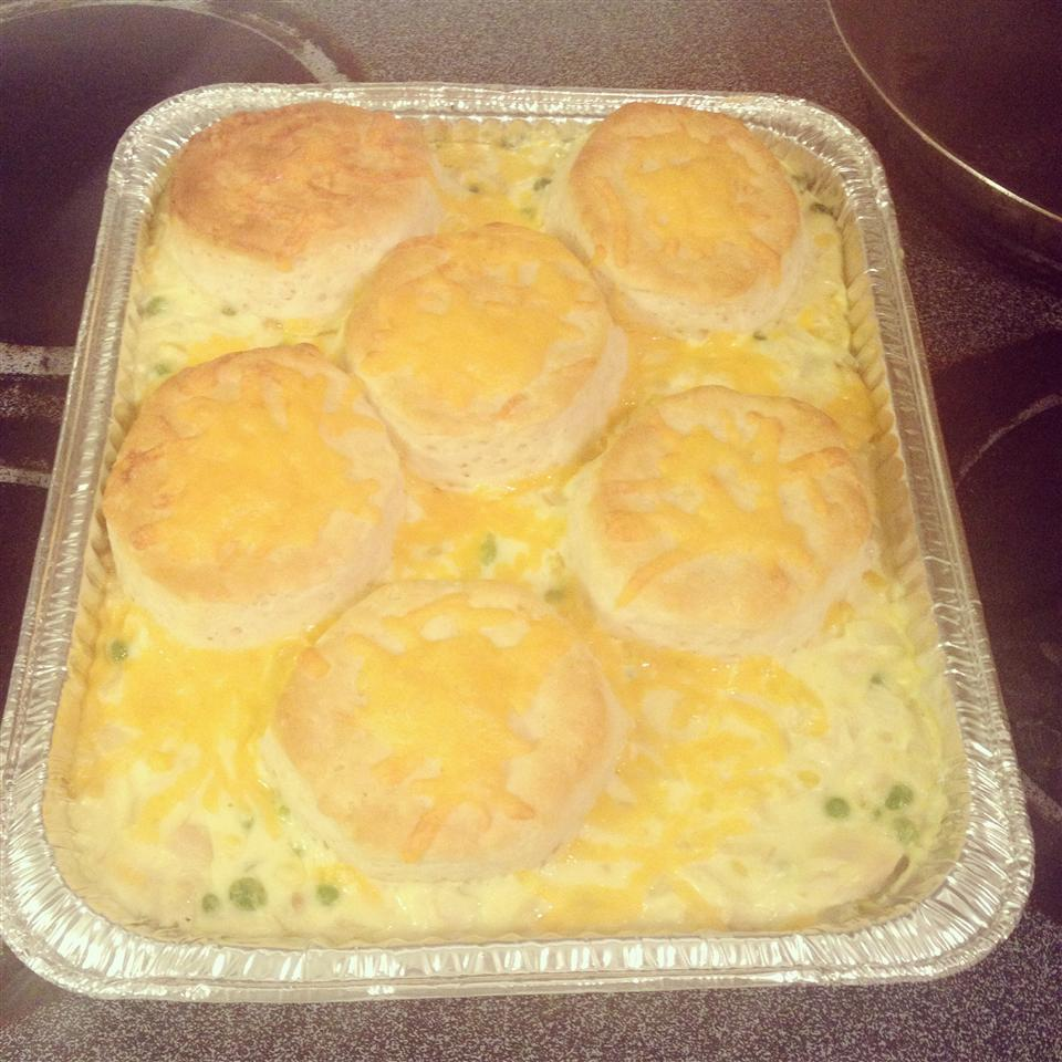 Creamed Chicken and Biscuits!