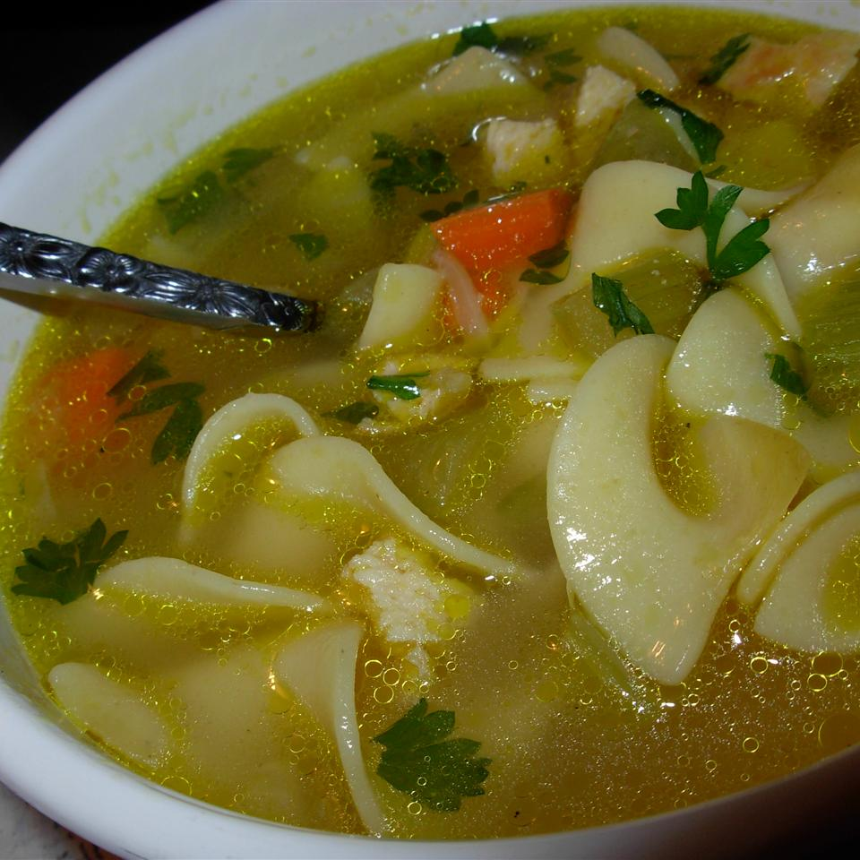 Chef John's Homemade Chicken Noodle Soup Suz