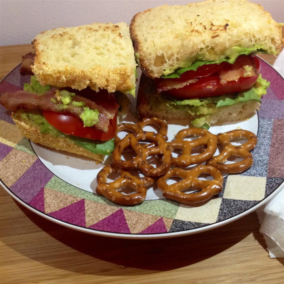 Midnight Snack Avocado Sandwich