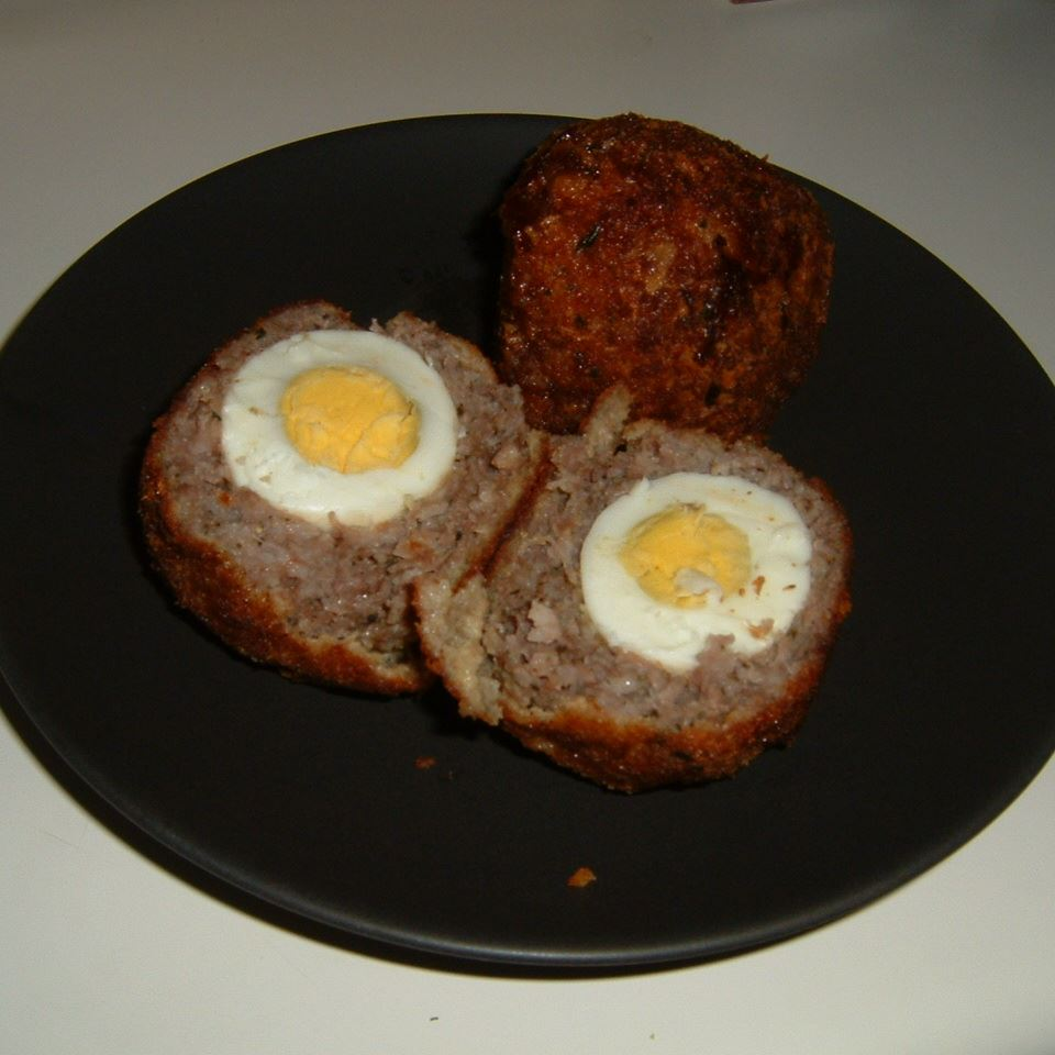 Old-Fashioned Scotch Eggs Caroline C