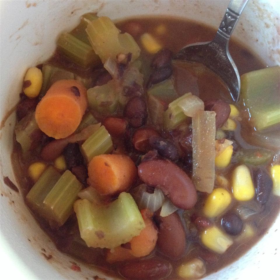 Spicy Black Bean Vegetable Soup kristina123
