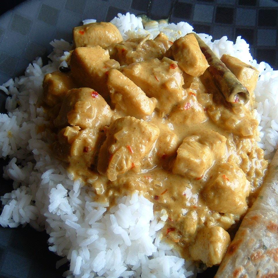 Spicy Indian Chicken Curry Yummy JRapuriS