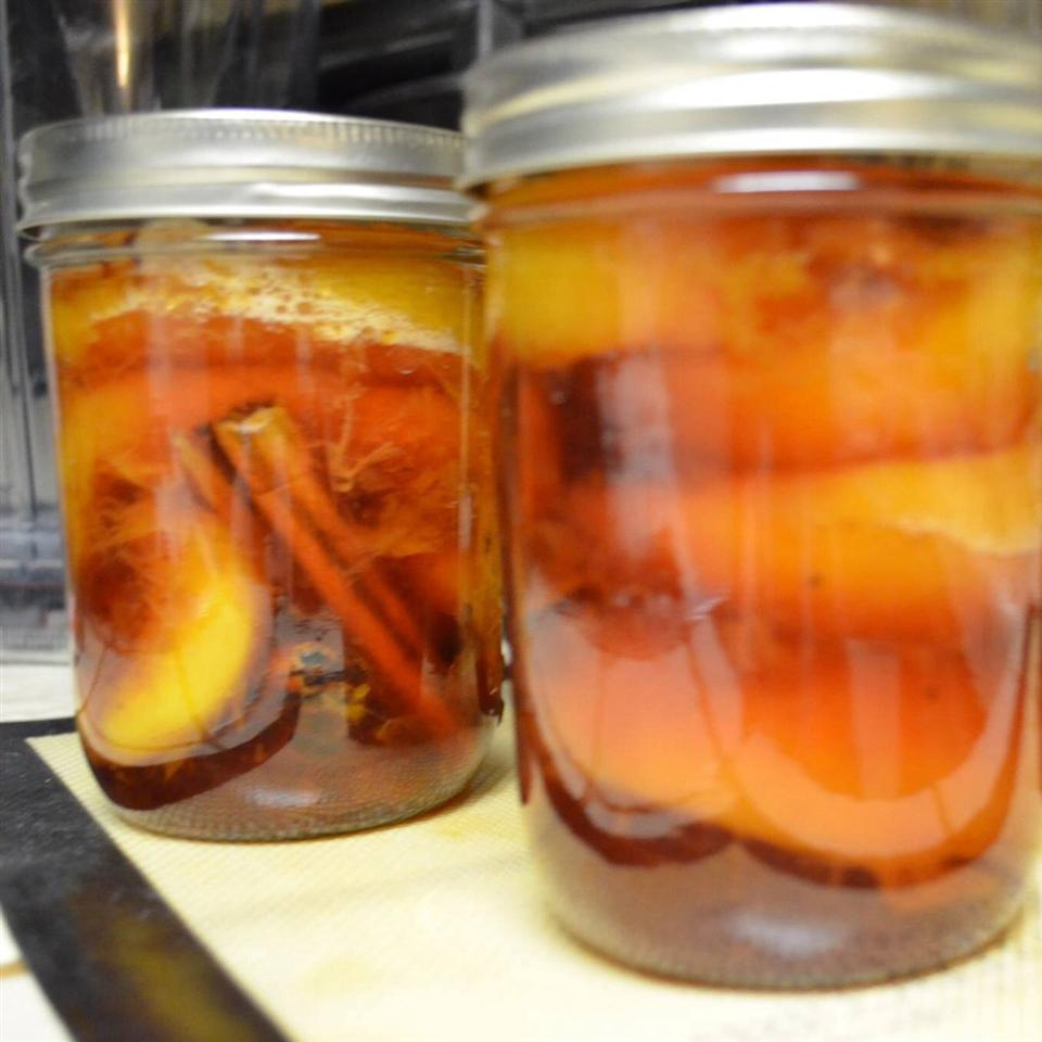Nana's Southern Pickled Peaches Sweetchef