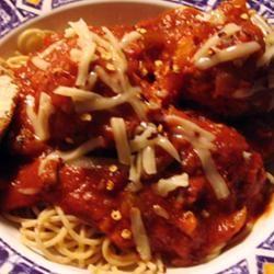 Italian Spaghetti Sauce with Meatballs Irene Y