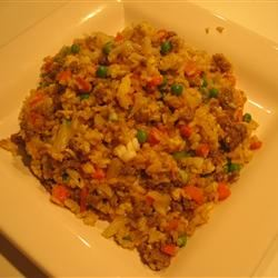 Glo's Sausage Fried Rice LaMiaItalia