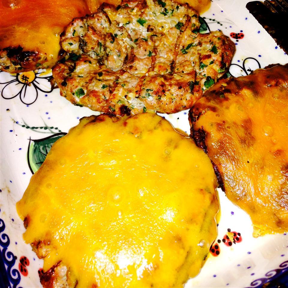 Chicken Cheddar and Guacamole Burgers Stephanie Hirsch