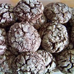 Chocolate Crinkle Cookies raracat