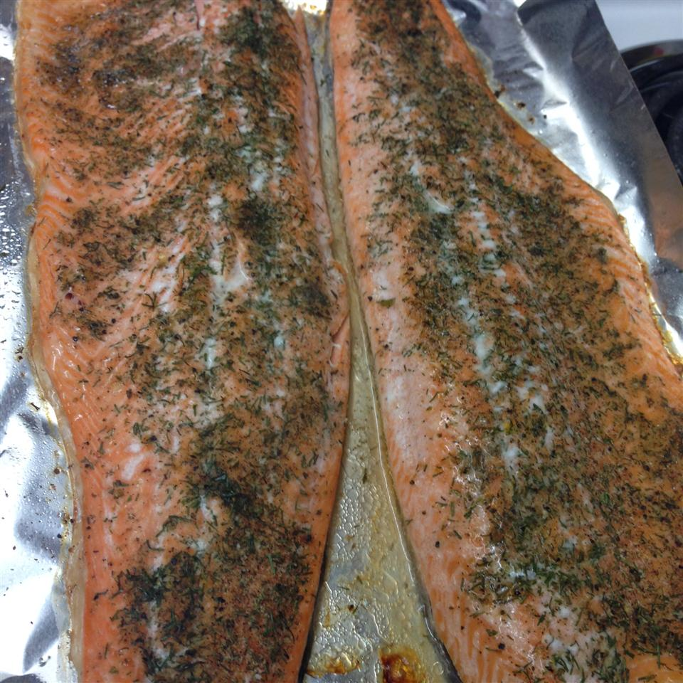 Salmon with Dill Angel