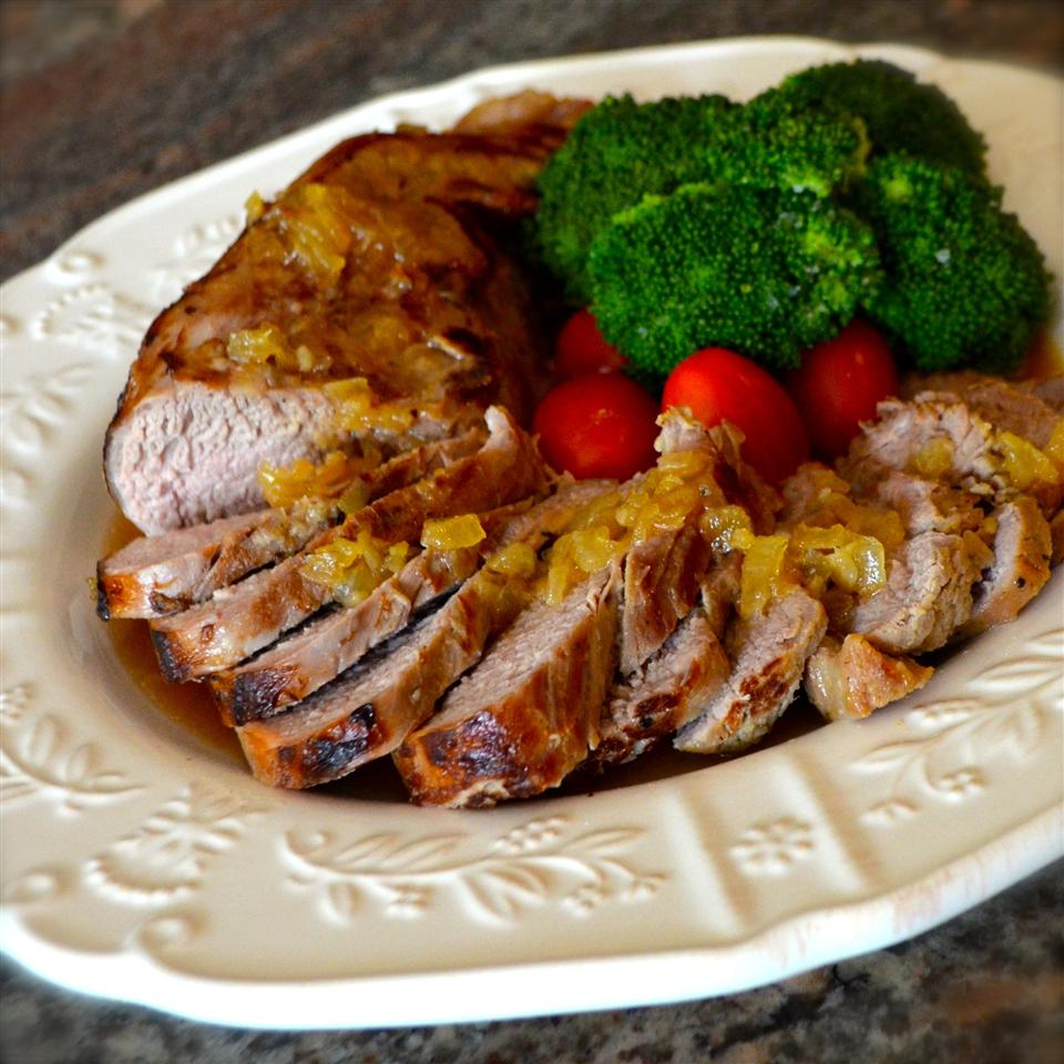 Maple and Garlic Marinated Pork Tenderloin