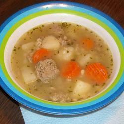 Tarragon-Turkey Soup