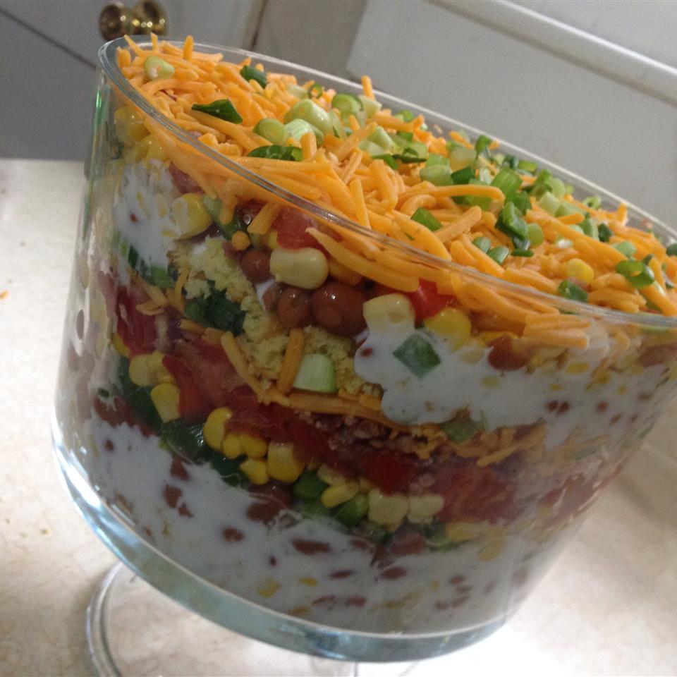 Mexican Cornbread Salad Lauren Taylor