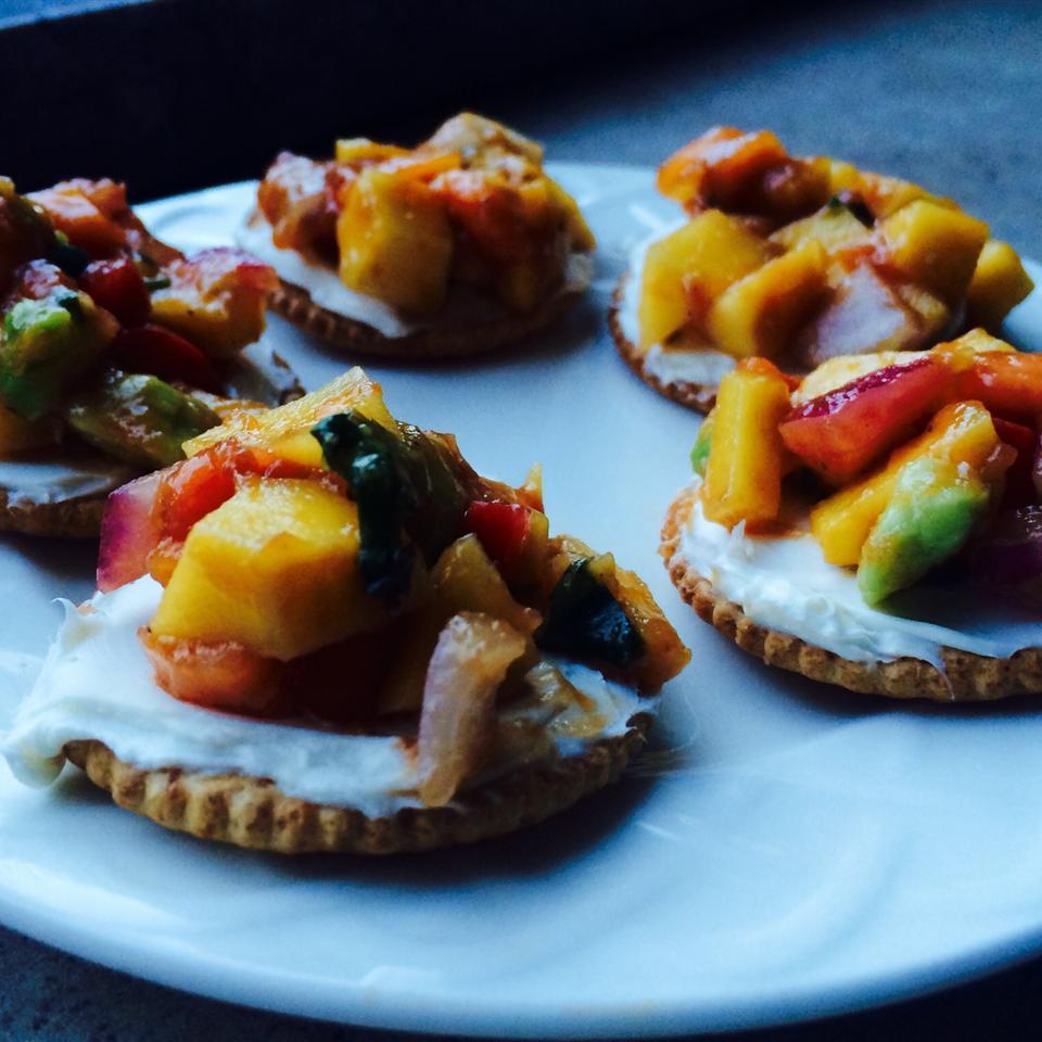 Mango Papaya Salsa Tess VanDenover