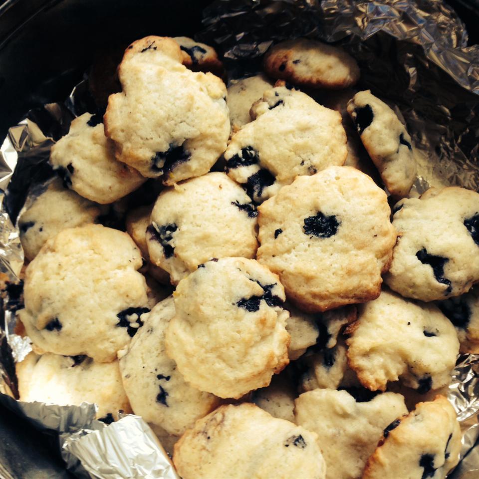 Blueberry Drop Cookies Jasmine Fitz-James