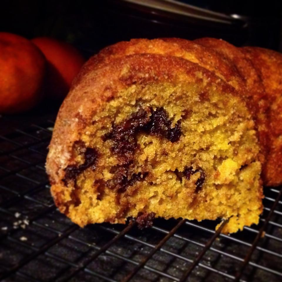 Clementine and Chocolate Chip Cake