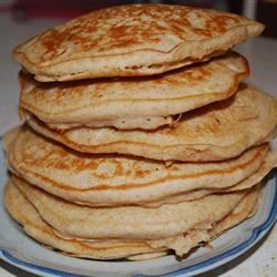 Whole Wheat Pancakes momofmy4crazykids