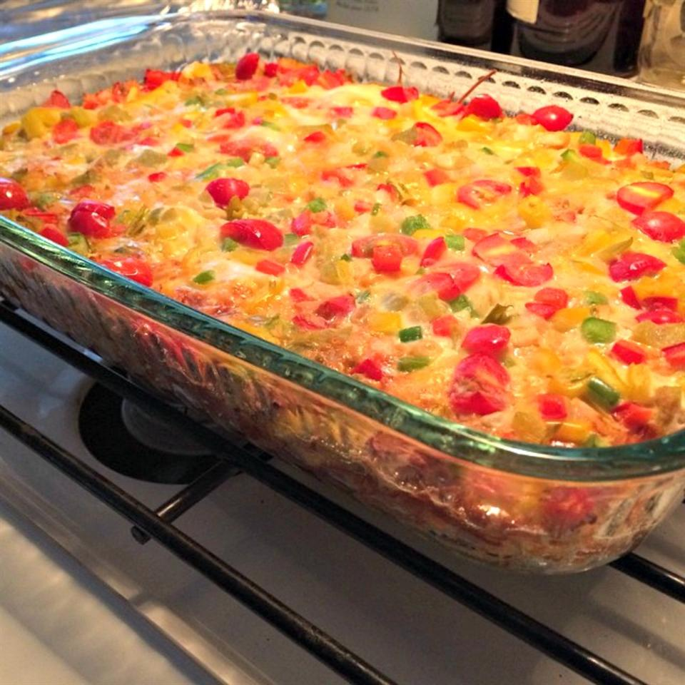 Wake-Up Casserole - Canadian Bacon lovestohost