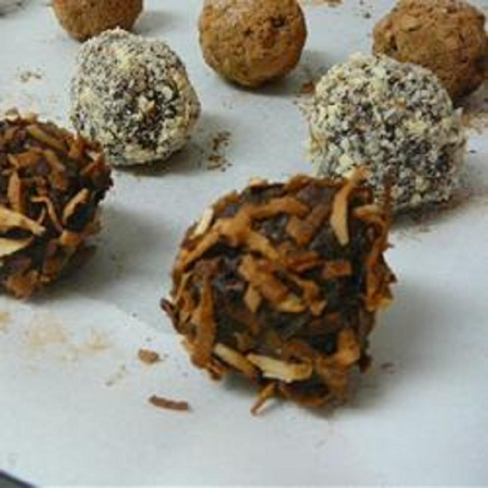 Vegan Truffles - Toasted Coconut FeliciaH