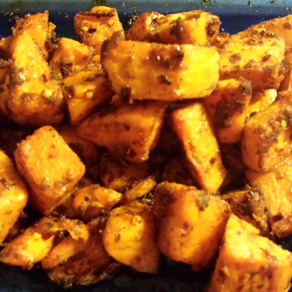 Sweet and Spicy Sweet Potatoes Mima