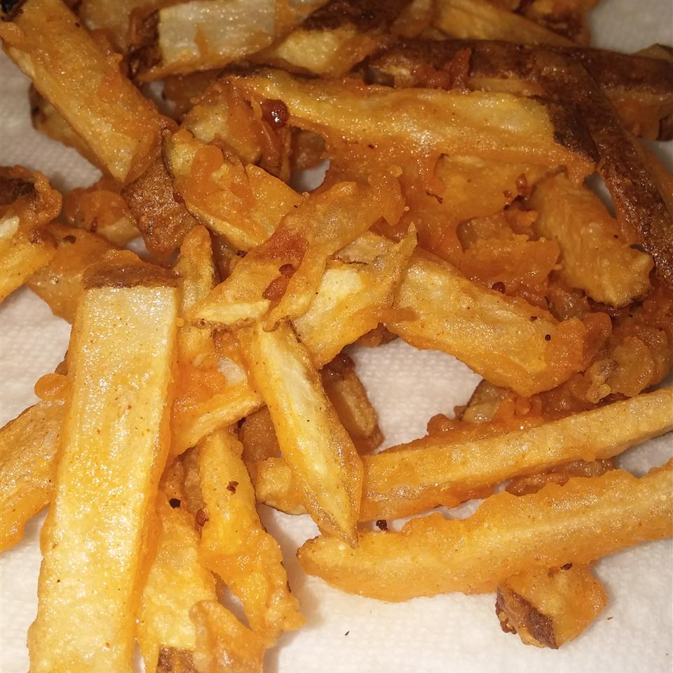 Homemade Crispy Seasoned French Fries Mark Perez