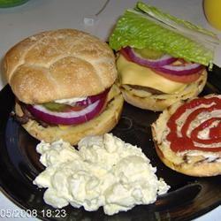 Venison Bacon Burgers jerry