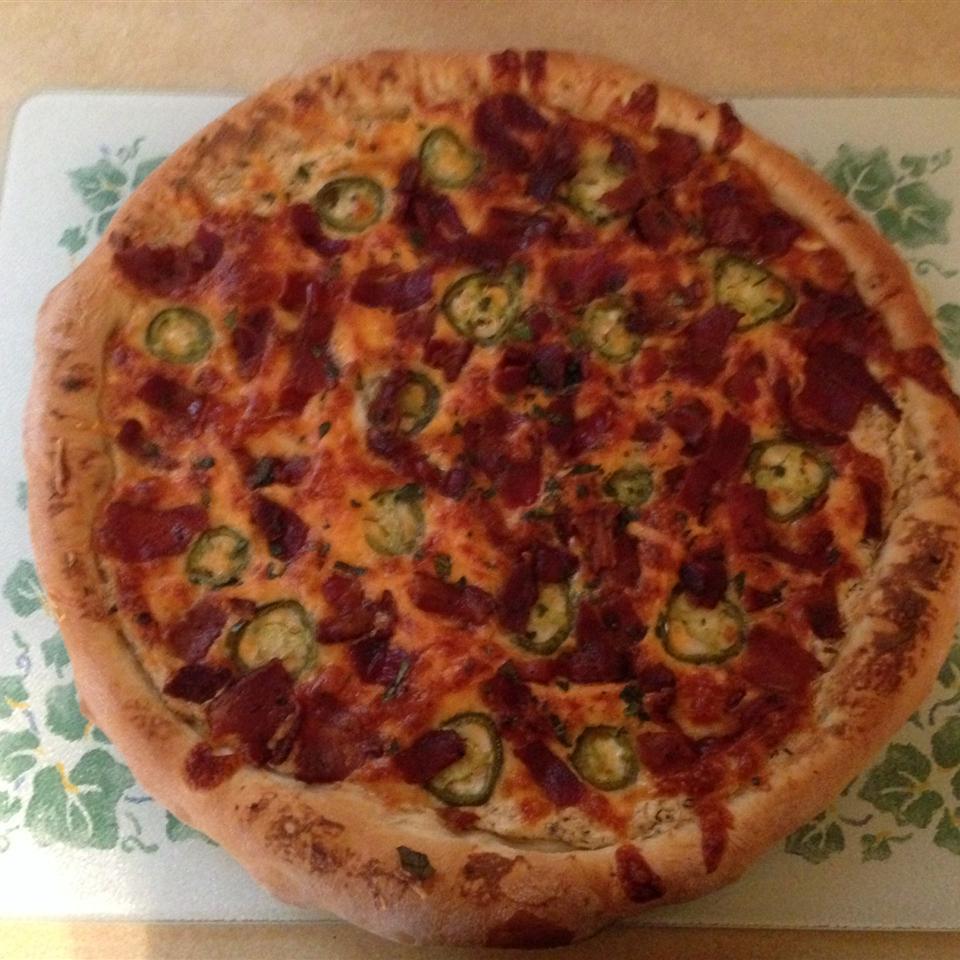 Jan's Jalapeno Popper Pizza lizardgrl