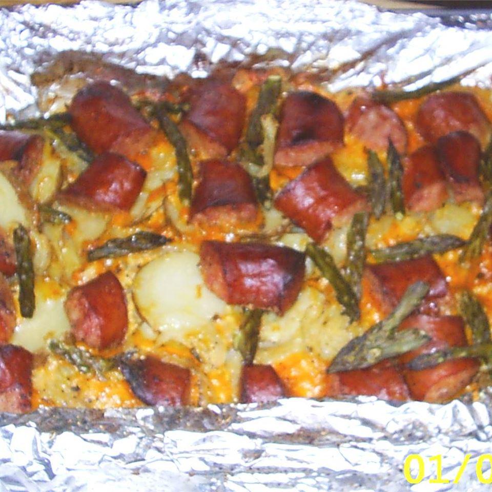 Sausage-Potato Casserole Holly J Chadwick