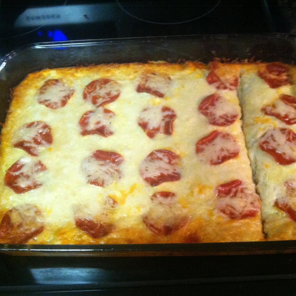 Gluten-Free Upside-Down Pizza