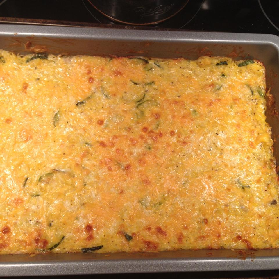 Cheesy Zucchini Rice Bake molly&devin