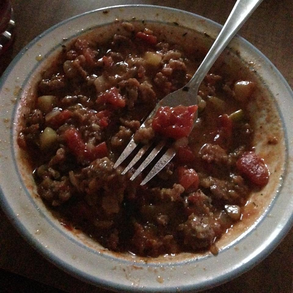 Smoked Sausage and Zucchini Saute