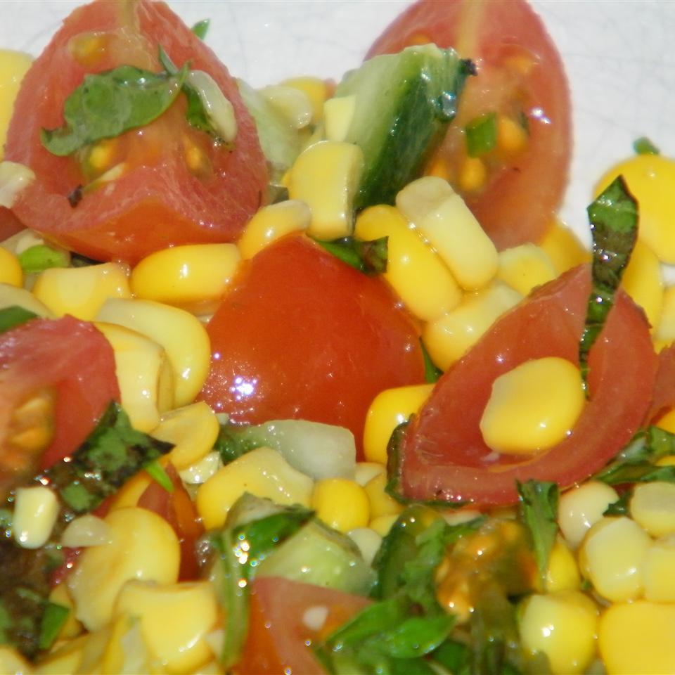 Easy Cherry Tomato Corn Salad Seattle2Sydney