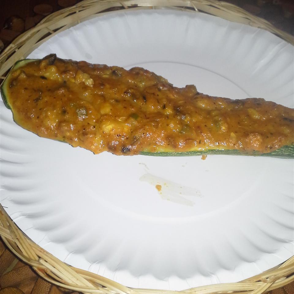 Savory Stuffed Zucchini Diana Rivera