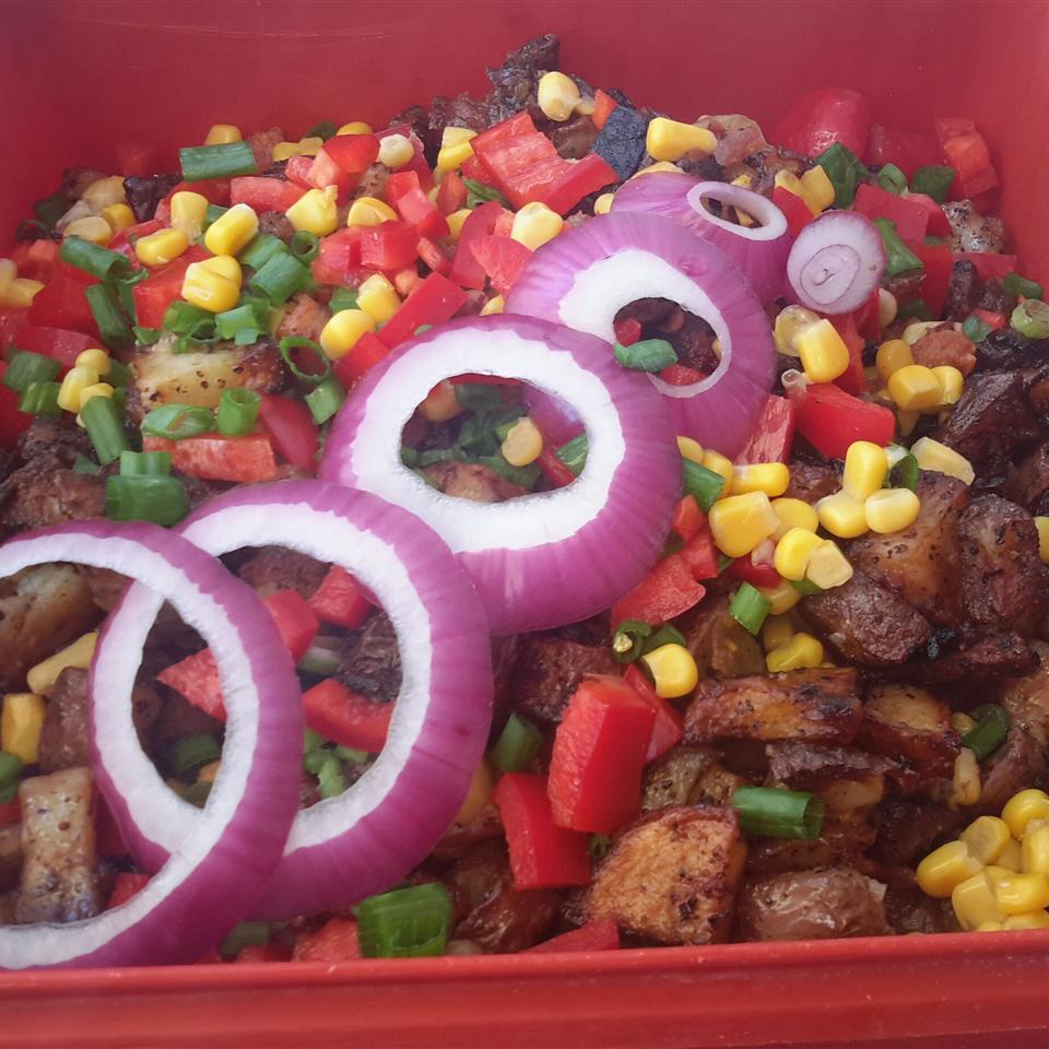 Corn and Bacon Salad Patty Cakes
