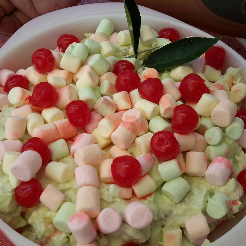 Pistachio and Pecan Salad