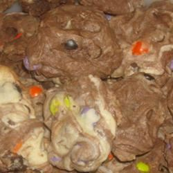 Chocolate Chip Marble Cookies