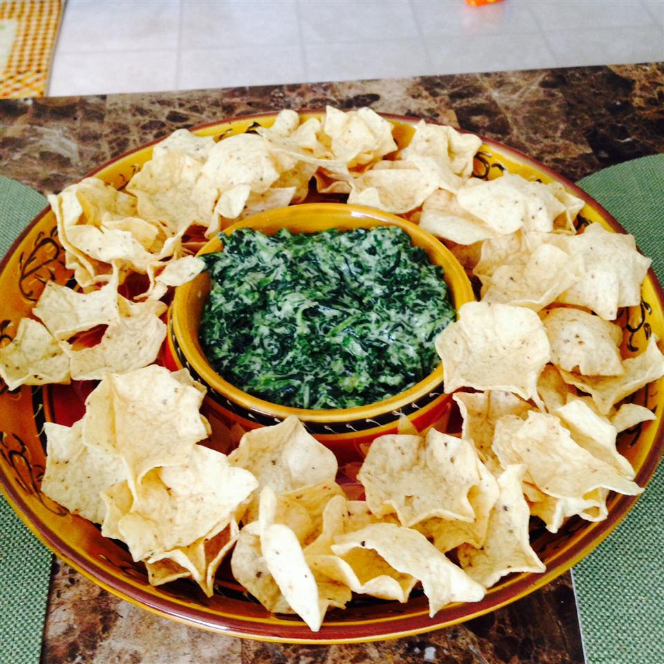 Cheesy Creamed Spinach