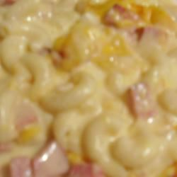 Macaroni and Cheese with Bacon and Onions Sarah Jo