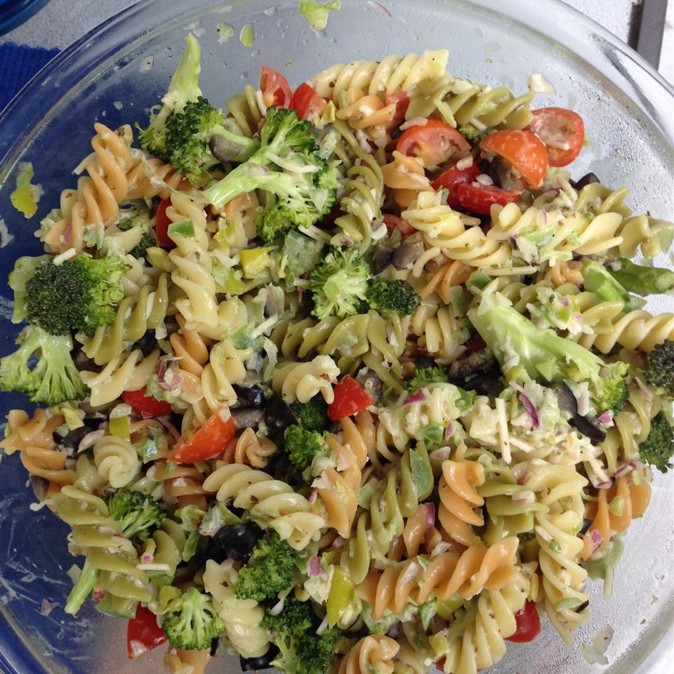 Pasta Salad a la Honeybear mitzy