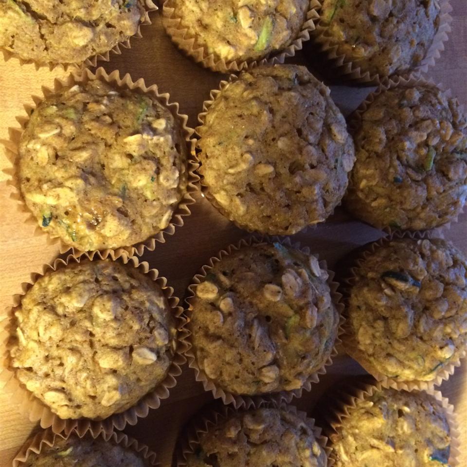 Healthy Pumpkin Zucchini Muffins momachef