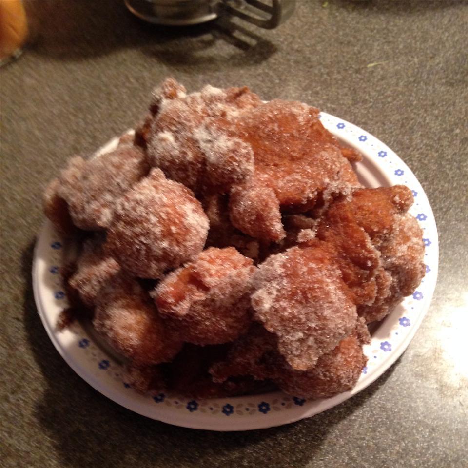 Applesauce Doughnuts cheese_honey