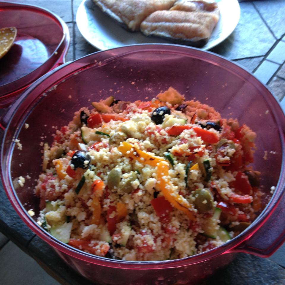 Jen's Greek Couscous Salad Janice