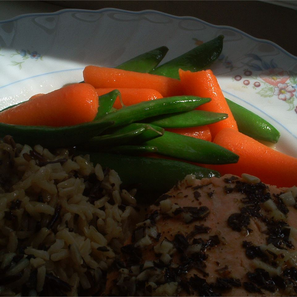 Honey Glazed Pea Pods and Carrots Michelle Ramey