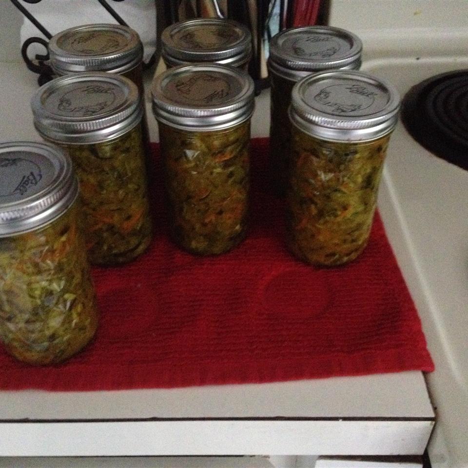 Easy Zucchini Relish