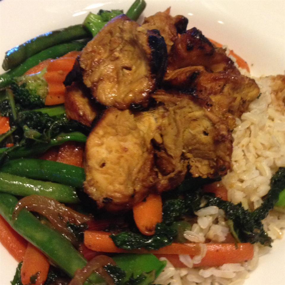 Thai-Style Chicken Satay Jennifer Korpak Bechtel