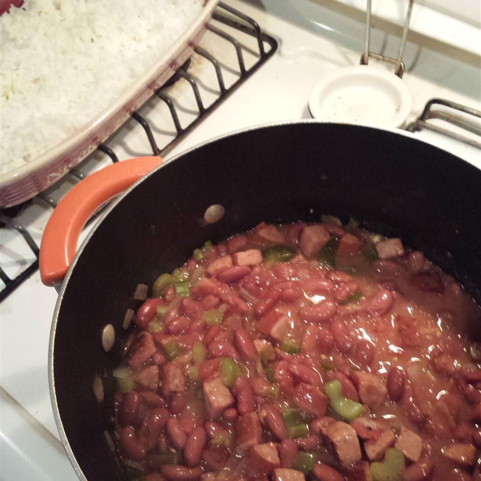Creole Red Beans and Rice Nikki