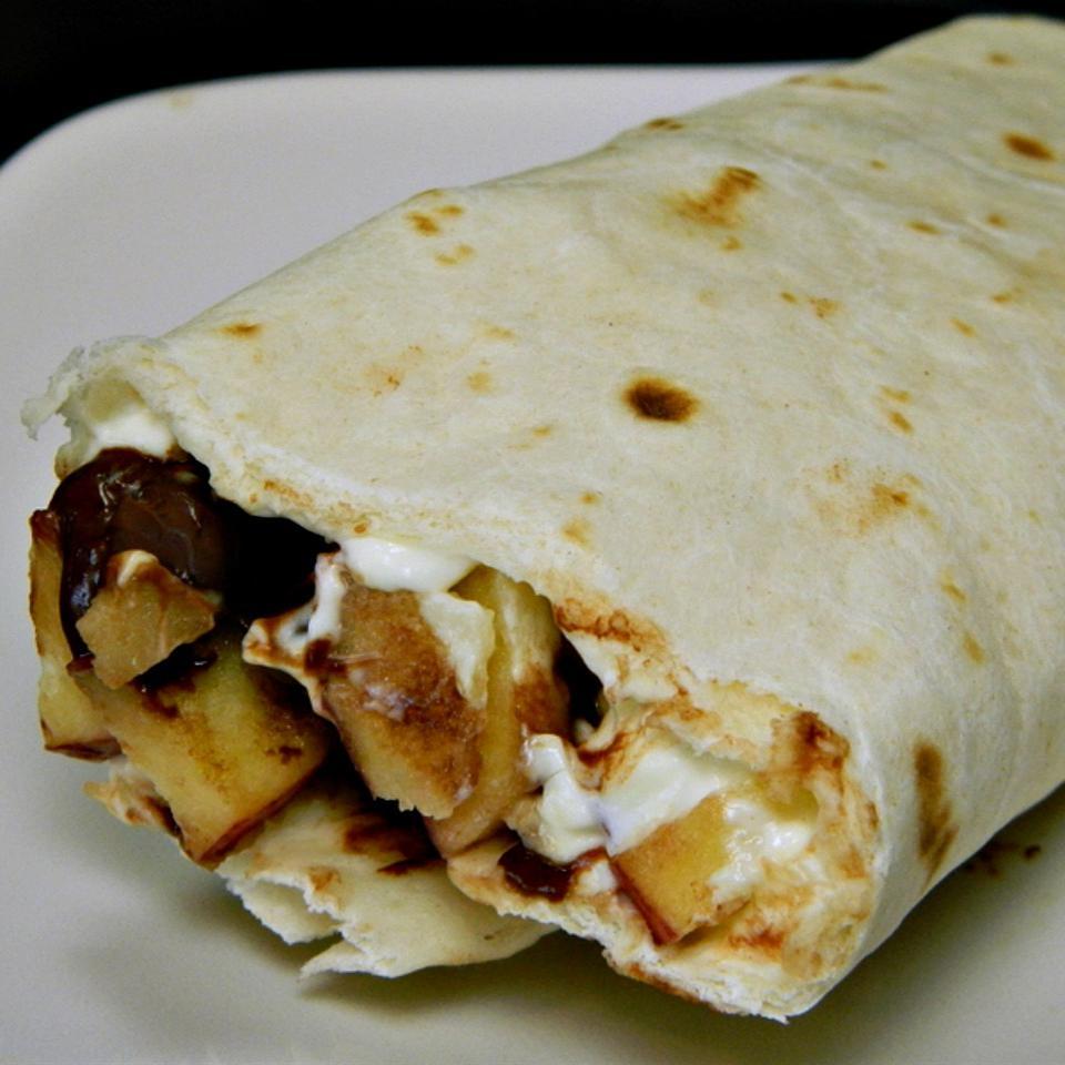 Fruit Tortilla Wrap-Up