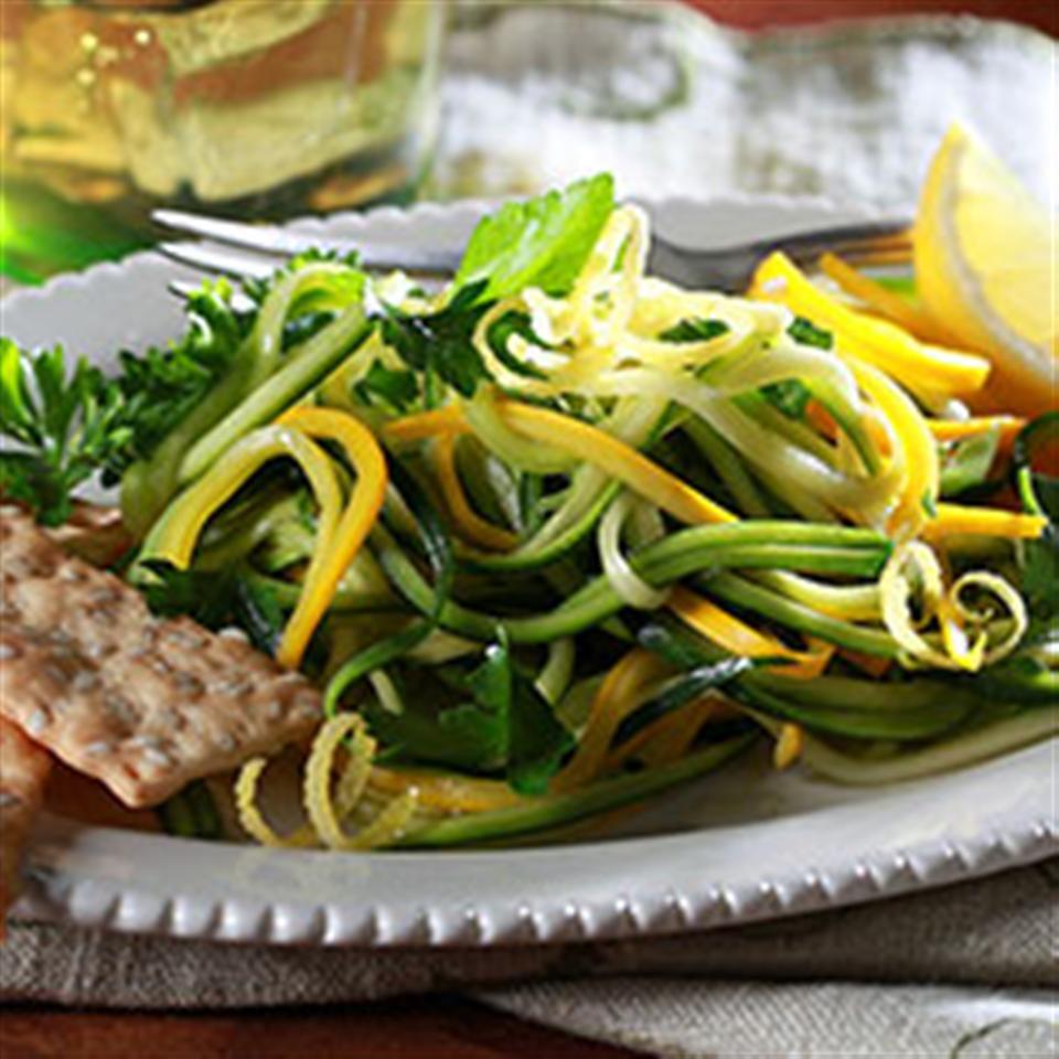 Herbaceous Salad with Lemon Vinaigrette